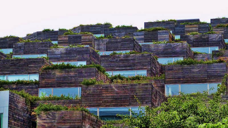 L'autonomie en aliment par le biais du toit